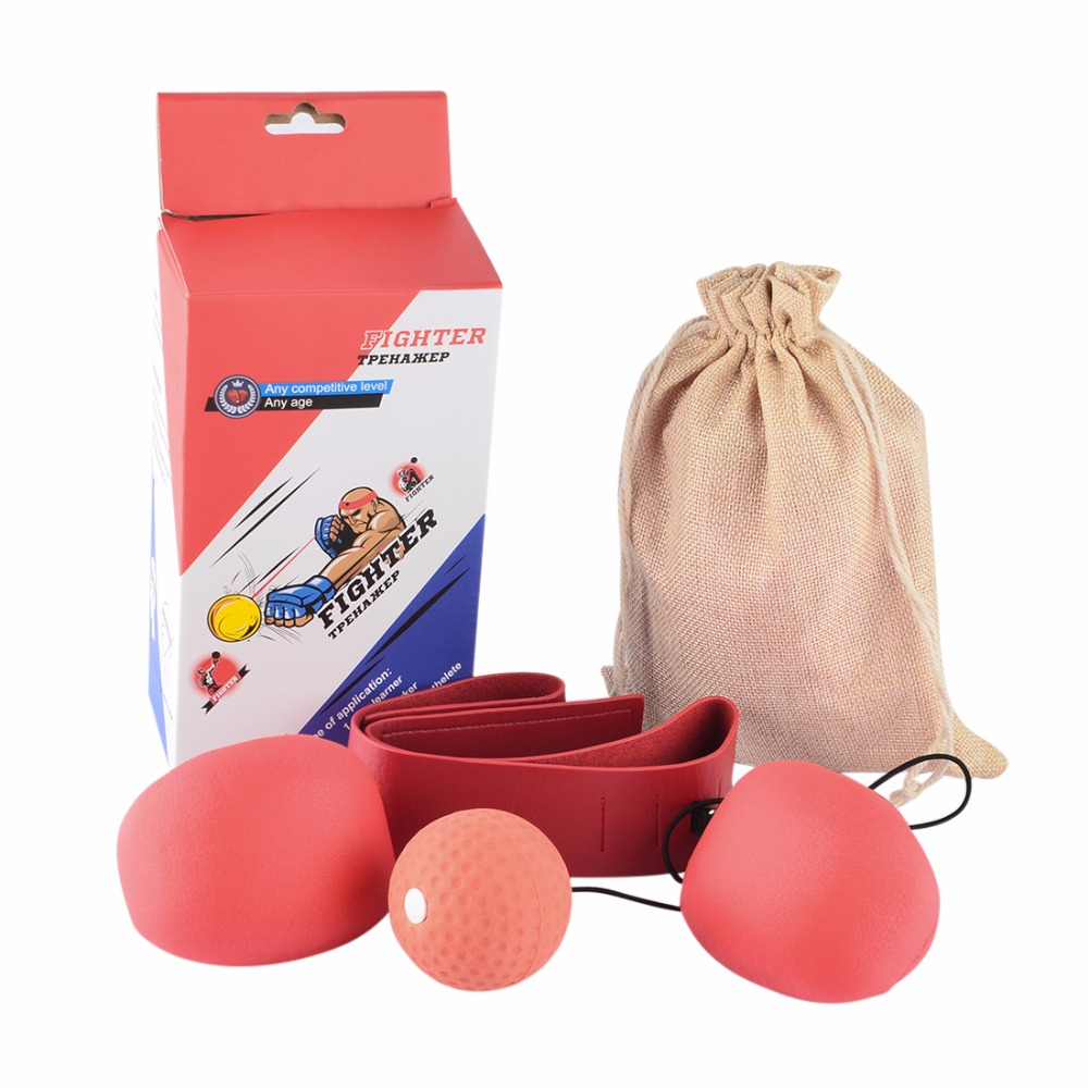 Adult Boxing Speed Ball Set Reactivity Awareness Training Punching Speed Ball for Fighting Free Combat – Random Color