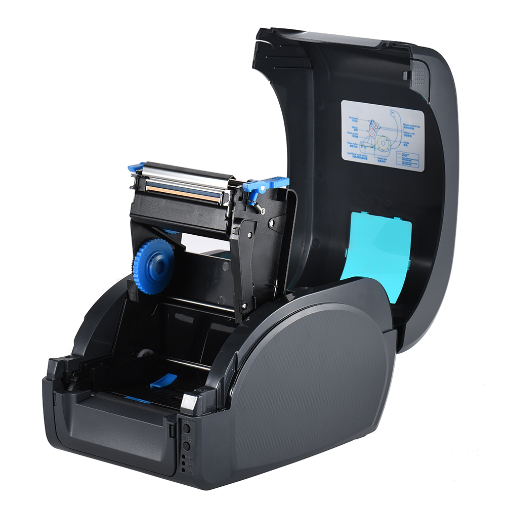 Gprinter Thermal Transfer Printer Label Receipt Barcode Printer 80mm Print Width USB Interface for POS Logistic