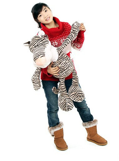 big lovely stuffed tiger animal plush toys cartoon tiger doll tiger toy birthday gift about 75cm