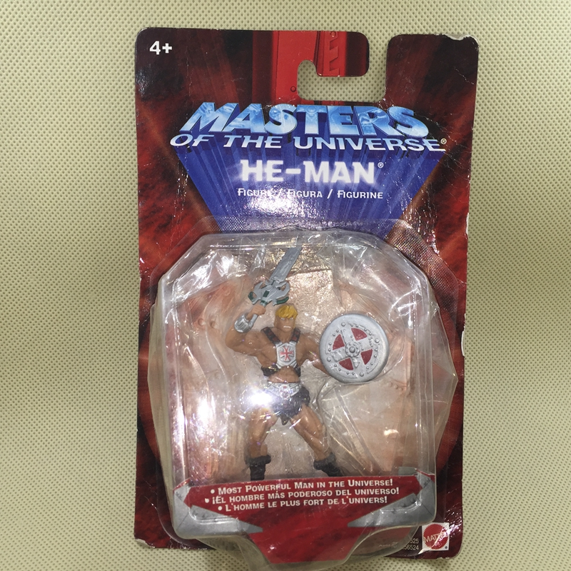 Exclusive Original Garage Kit Classic Toy Masters Of The Universe Battle Armor He Man Action Figure Collectible Model Loose Toy