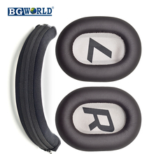 Bgworld substituição bandana protetor protetor de proteção almofadas para plantronics backbeat pro 2 fones ouvido