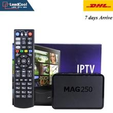 Mag 250 IPTV Box + 1 year IPTV Subcription 1000 Europe IPTV Sky IT DE UK French Portugese Spanish Turkish TV Box