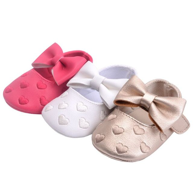 74843052cdce Infant PU Leather Baby Boy Girl Moccasins Moccs Shoes Bow-knot Fringe Soft  Soled Bebes Anti-slip Footwear Crib Shoes