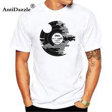 Retro Vinyl Record men's t-shirt