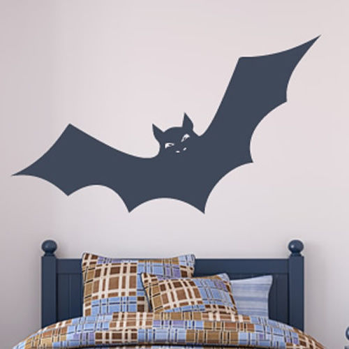 2017 Vinyl Wall Decal Bat Mural Art Sticker Graphic Bedroom Decor Party Bar Window Gl Home In Stickers From Garden