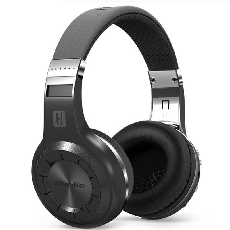 2016 HiFi Bluedio H Wireless Bluetooth Hand Free Headset Super Bass Music Headphone with Line in