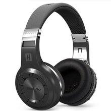 2016 HiFi Bluedio H+ Wireless Bluetooth Hand Free Headset Super Bass Music Headphone with Line-in Socket Microphone TF Card Slot