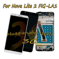 5.65'' New For Huawei Nova Lite 2 FIG LA1 ( not for Nova lite ) Full LCD DIsplay + Touch Screen Digitizer Assembly With Frame
