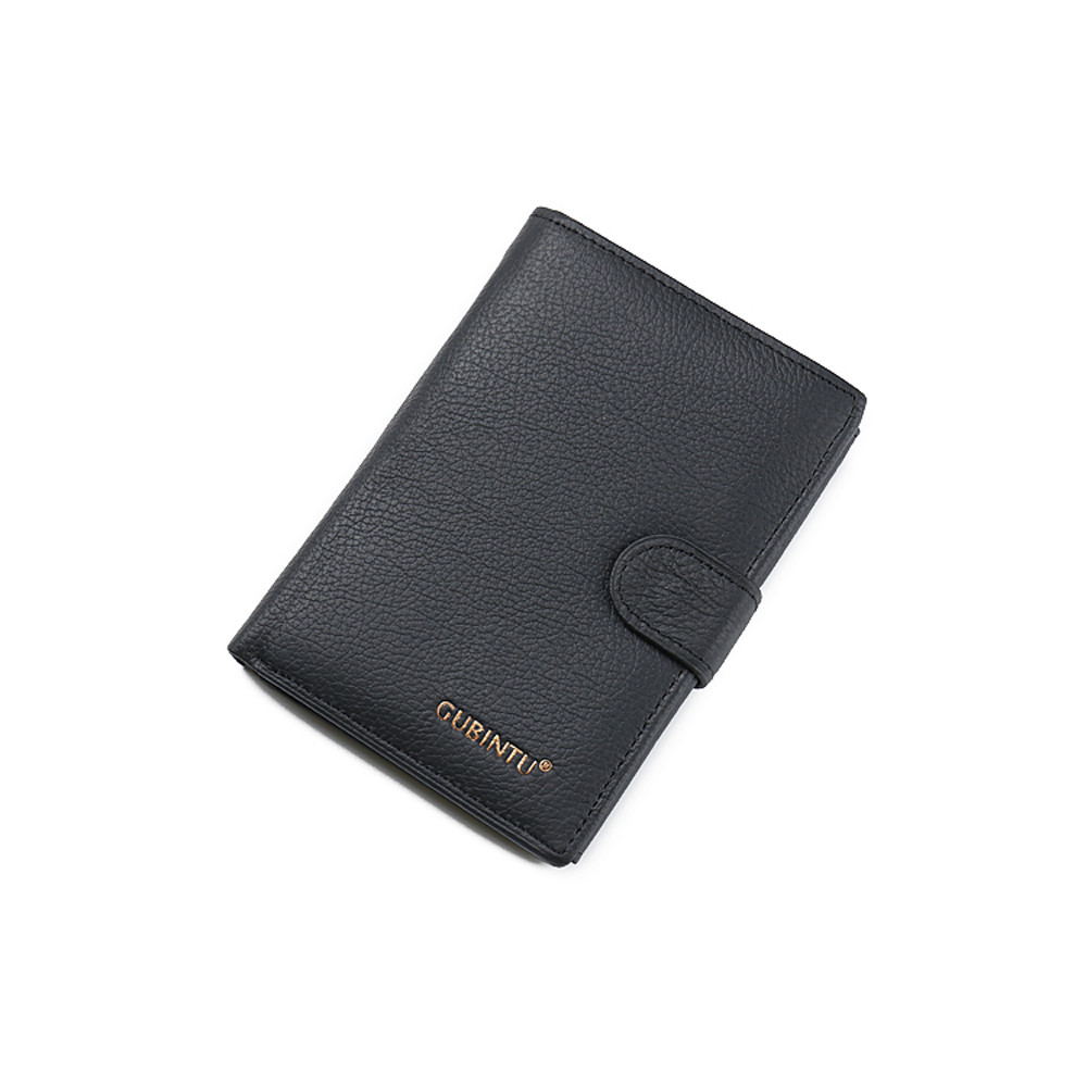 MOLAVE Wallets Wallet Male Solid Coin PUrse Hasp Bifold Wallet Men Leather Black Credit/ID CardHolder Slim PUrse May29