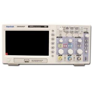 Image 2 - Hantek Osciloscopio Digital DSO5202P, ancho de banda de 200MHz, 2 canales, PC, USB, LCD, portátil, herramientas eléctricas