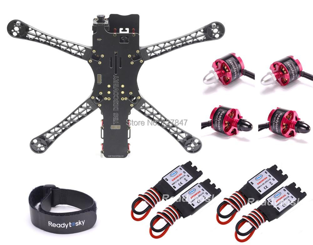 FPV Quadrocopter X500 500 500-V2 Alien Frame 500mm 2212 920KV Motor 30a Simonk Brushless esc for  Multicopter TBS BlackSheep 2212 920kv brushless motor cw ccw 30a simonk brushless esc 1045 propeller for f450 f550 s550 f550 quadcopter frame