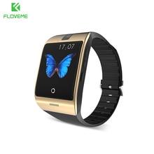 FLOVEME Original Bluetooth Smart Watch Heart Rate Monitor Smart Wristwatch Android For Samsung Xiaomi Wearable Device Smartwatch