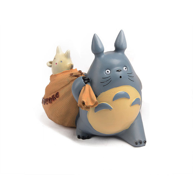 Christmas Gifts Piggy Bank Figurines Household Decor Cute TOTORO ...