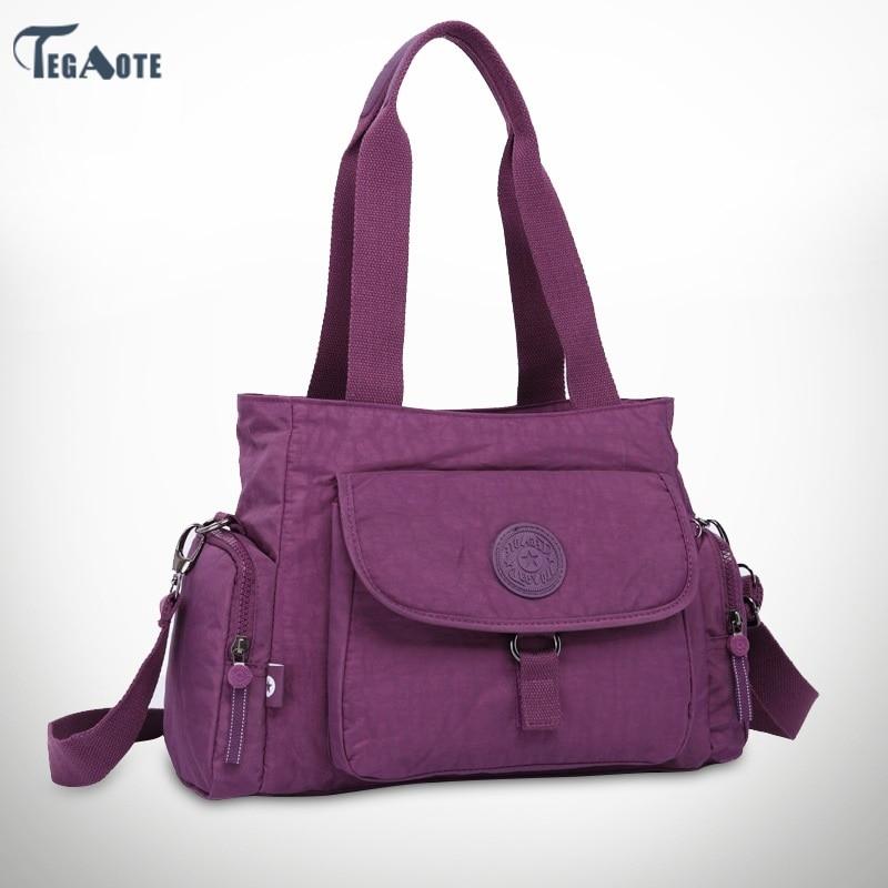 Female Bag Shoulder-Bag Nylon-Bag Girls Handbag Design Bolsos Main High-Quality Women