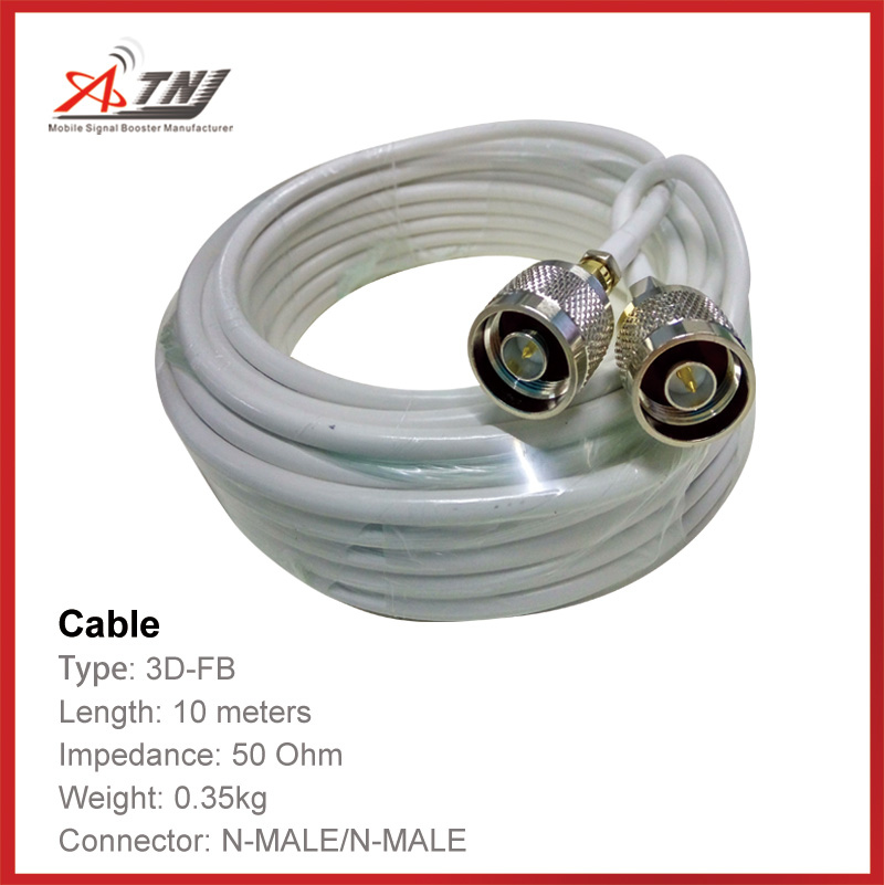 Top Quality ,ATNJ 3D-FB  10m N/Male/N-Male Coaxial Cable