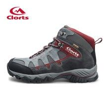 Nuevos Clorts Zapatos Al Aire Libre Hombres Senderismo Botas Zapatos de Deporte Impermeables antideslizantes Zapatos de Escalada Botas de Montaña HKM-823A/B/C/D