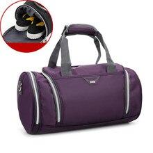 купить Waterproof Men Sports Gym Bags New Leisure Yoga Fitness Bag Women Travel Handbag Training Duffle Academy Backpack Bag онлайн