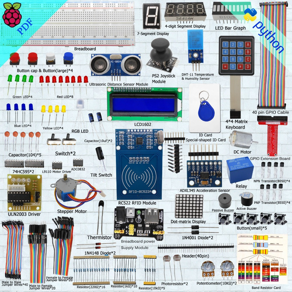 Microcontroller Starter Kit Beginner Diy Kit004 Lcd1602 In Smart Electronic Circuits Remote Control From Consumer Electronics On Alibaba Group