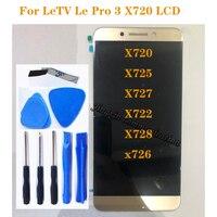 "5.5 ""original lcd para letv le pro 3 leeco display tela de toque para letv leeco le pro3 x720 x725 x727 x722 x728 x726 display lcd|LCDs de celular| |  -"