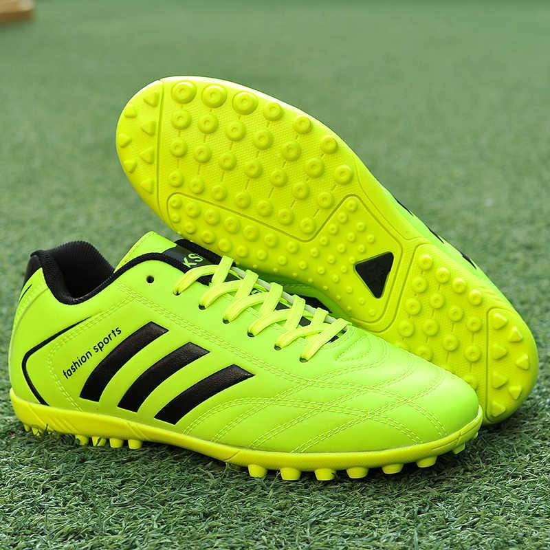 Profissionais Chuteiras Adizero Parley MD TF Botas de Futebol Ao Ar Livre Chuteiras Sneaker Treinamento Adulto Crianças Das Meninas Dos Meninos Das Mulheres Dos Homens