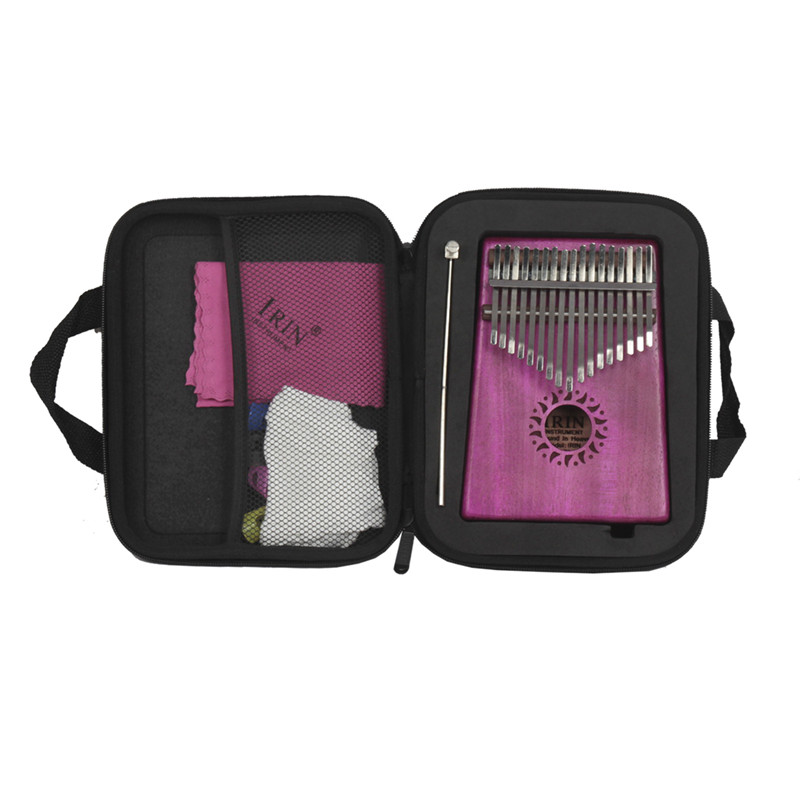 2018 Thumb Bag Shockproof Kalimba Box Finger Box Silicone 4pcs Soft Guitar Thumb Finger Picks Protector Guitarra Accessories