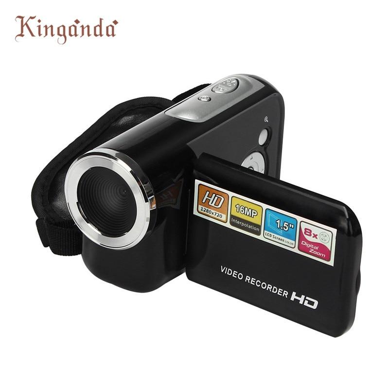 Karsts! Portatīvie un mini HD 720P videokameras 1,5 collu TFT 16MP 8X digitālā tālummaiņas video videokameras DV # dec7