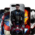 Для iPhone 5 5S SE Жесткий Корпус Капитан Америка железный человек Дэдпул Дизайн Fundas Крышка Телефона Для iPhone 5 5s Капа Coque