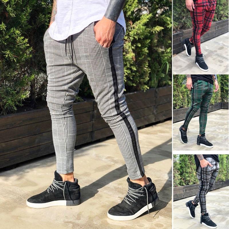 Hot Men Long Casual Sport Pants Slim Fit Trousers Running Joggers Gym Sweatpants