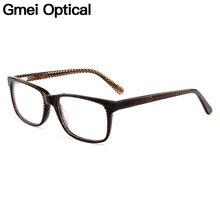 3e158a5c08 Gmei Optical Vogue Acetate Full Rim Men Eyeglasses Frame Women Myopia  Presbyopia