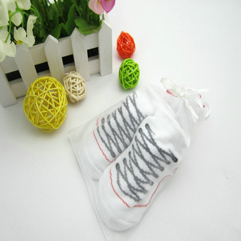 Cute Baby Newborn Children Solid Socks Wholesale Super Cute Kids Shoes Baby Clothing Socks Rubber Sole