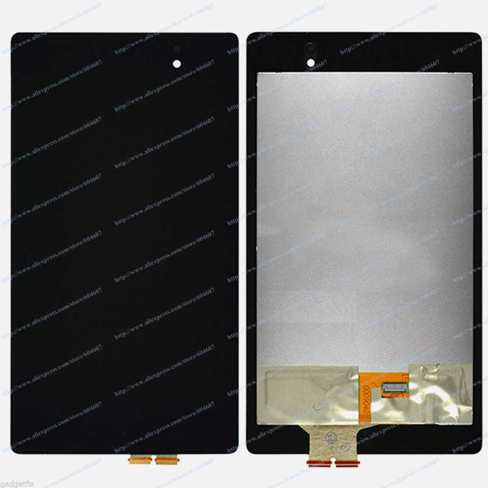 New OEM Black Touch Screen with Digitizer+LCD Display Assembly For Asus Google Nexus 7 2nd Gen 2013 brand new for asus google nexus 7 fhd 2nd gen 2013 lcd display screen with touch screen digitizer assembly free shipping