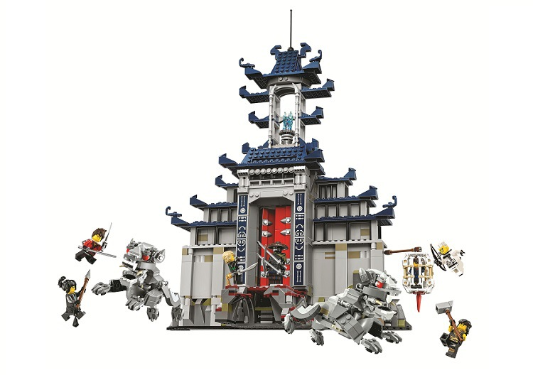 BELA Ninjagoed Temple of the Ultimate Ultimate Weapon Building Blocks Sets Brick Ninja Movie Model Kids Toys Compatible Legoings