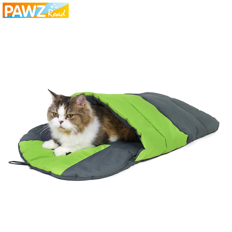 Travel Dog Bed >> Us 13 29 30 Off Pet Dog Cat Sleeping Bag Dog Beds Slipper Style Portable Waterproof Durable Travel Camping Outdoor Cat Cushion For Small Dog Cat In