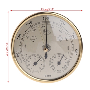 Image 5 - OOTDTY Wall Mounted Household Barometer Thermometer Hygrometer Weather Station Hanging