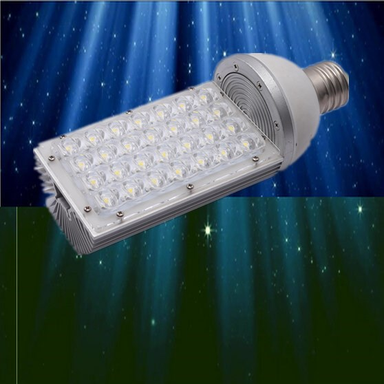 New Fashion 2017 Sale New Aluminum Emc Fcc 6pcs/lot E40 Led Street Light Bulbs With 28w Power 85 To 265v Ac Voltage Ce And Rohs Certified Discounts Price Led Outdoor Wall Lamps Lights & Lighting