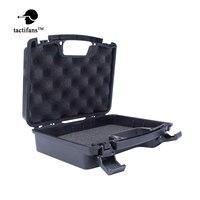 Tactical Pistol Gun Storage Case ABS Plastic Box Gun Guard Case Hunting Hard Storage Case with Foam 33x27x8.7cm Airsoft