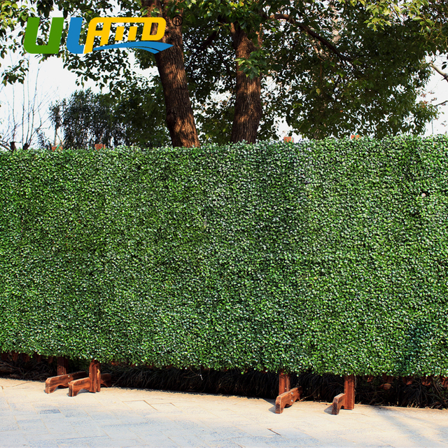 Uland Outdoor Artificial Plastic Privacy Fence Plants