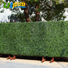 ULAND Outdoor Artificial Plastic Privacy Fence Plants China 1 5 SQM UV Proof Hedge Wall Boxwood