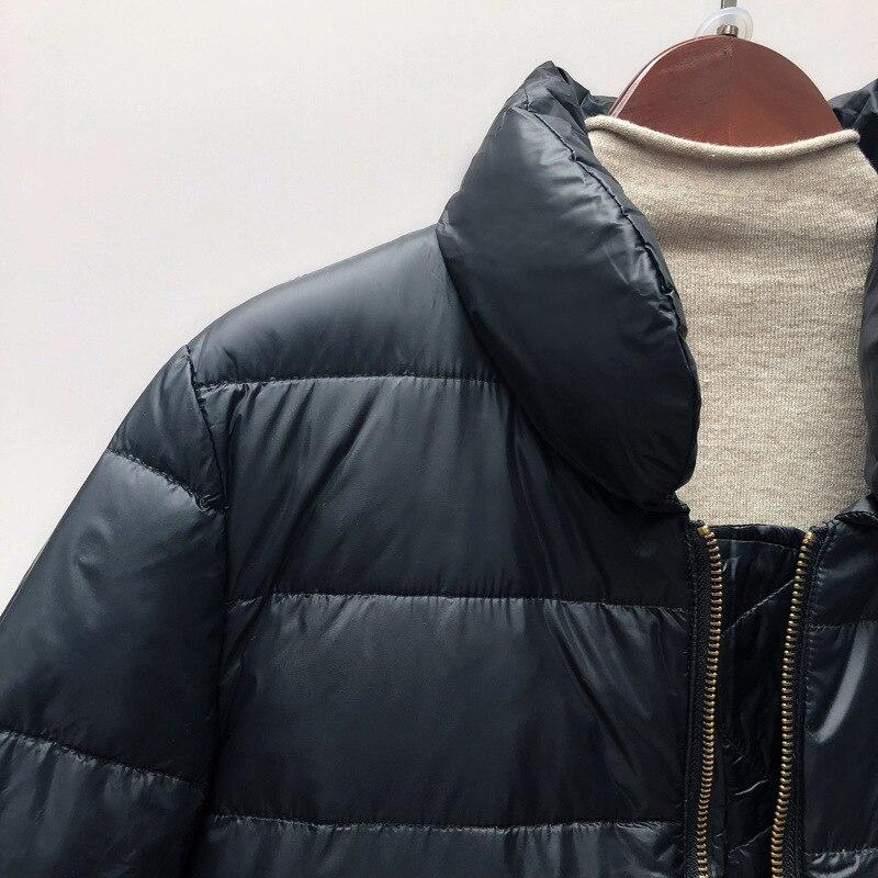 Winter neue daunenjacke beiläufige lose brot dress wild kurzen wintermantel weiblich schwarz braun