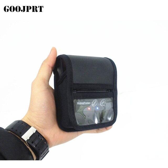Impresora térmica portátil de 58mm + USB Bluetooth compatible con android e ios