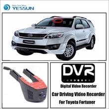 цена на For Toyota Fortuner / Car Driving Video Recorder DVR Mini Control Wifi Camera Black Box / Registrator Dash Cam Original Style