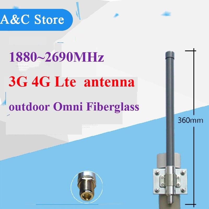 3g 4g lte antenne extérieure 4g Antenne à gain élevé 6dBi extérieur pour Téléphone portable Signal Booster Répéteur N-Femelle