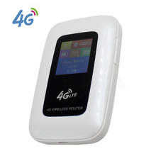 Support LTE WCDMA unlocked portable 3G 4G wifi mobile router Hotspot with SIM Card Slot