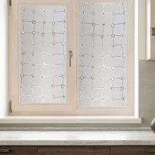 3D diamond Window foil Film Static Cling Decorative Privacy Laser Gemstone anti-UV Self-Adhesive film for furniture 45*100cm