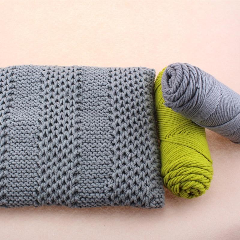 Hot 5 Ball/lot 500g Natural Silk Soft Organic Cotton Yarn Milk Fiber Knit Yarn Crochet Wool Thick Yarn For Knitting Thread,Z3501