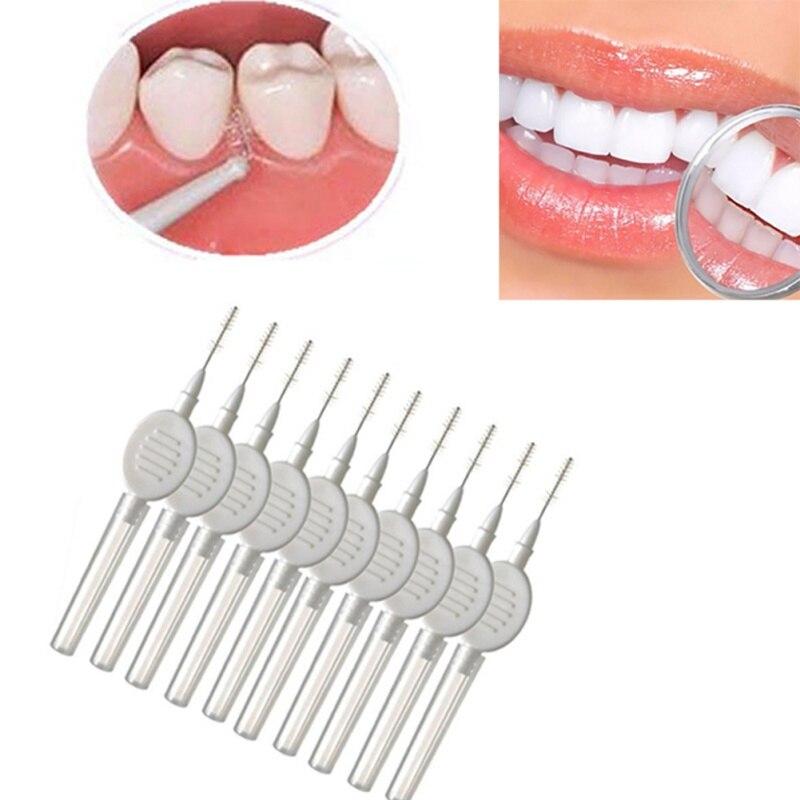 Schönheit & Gesundheit Interdentalbürste Willensstark 10 Pcs Interdentalbürste Zahnseide Zähne Reinigung Hygiene Oral Care Dental Werkzeuge Besen Kopf Interdentalbürsten