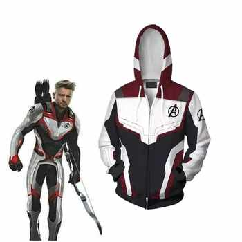 Avengers 4 Endgame Quantum Realm avengers endgame hoodie 3D Print Hoodies Men women Zipper Sweatshirts Coat Cosplay Costume - DISCOUNT ITEM  35% OFF All Category