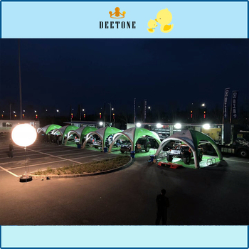 Outdoor mobile portable inflatable advertising tent, PVC inflatable tent, free to build a speed open tent. цена 2017