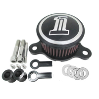 CNC Aluminum Motorcycle Air Cleaner Intake Filter Kits For Harley Davidson Sportster XL883 1200 2004 2014