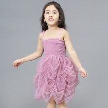cc1aed2fc58e1 2019 été bébé enfants fille robe enfant en bas âge princesse fête TUTU robe  de gâteau pour les filles vêtements anniversaire rob.